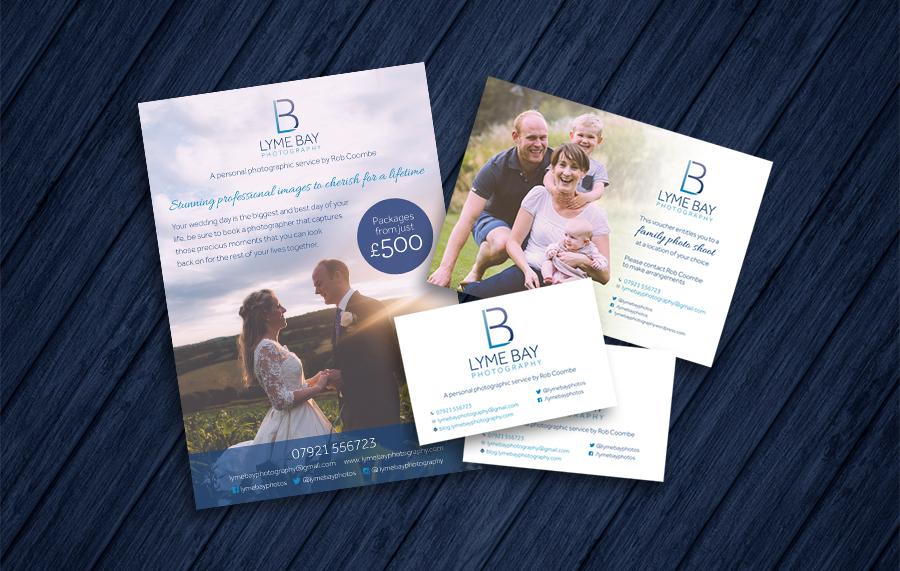 Lyme Bay Photography Business Stationery
