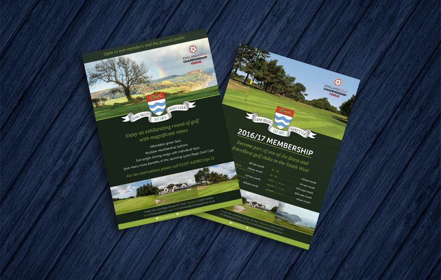 Lyme Regis Golf Club Flyers