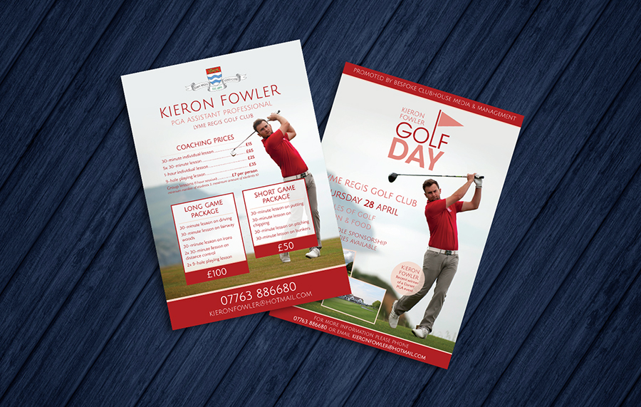 Kieron Fowler Golf Flyers